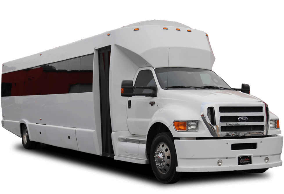 Get the whole crew on board with 36 seater party bus