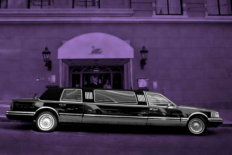 limousine service for valentine's day