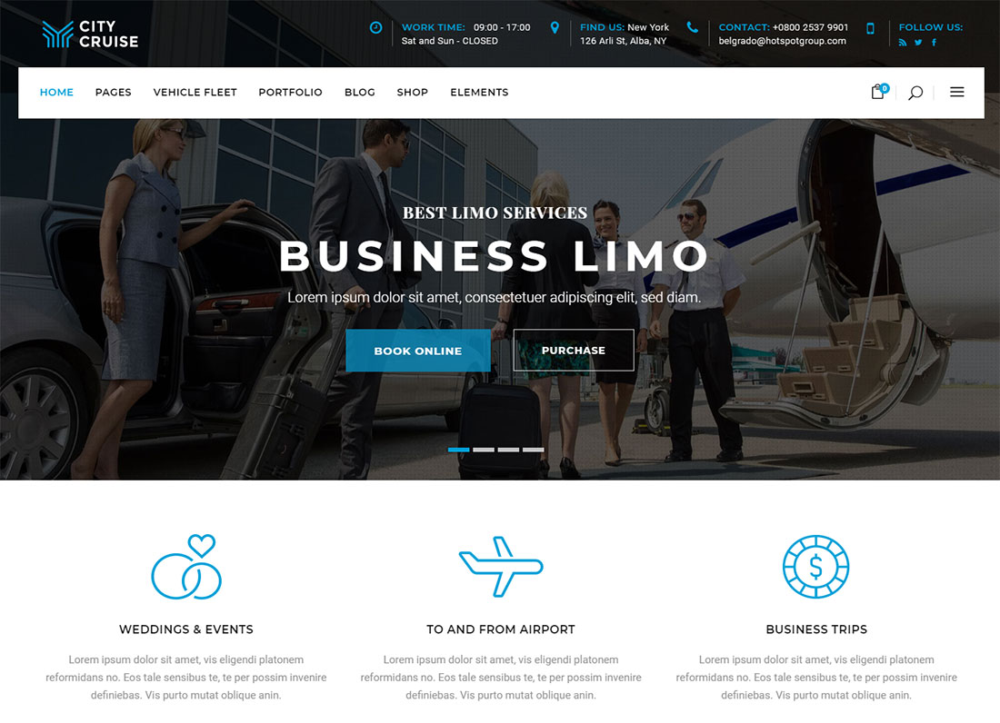 City Cruise Limo - Business Limousine