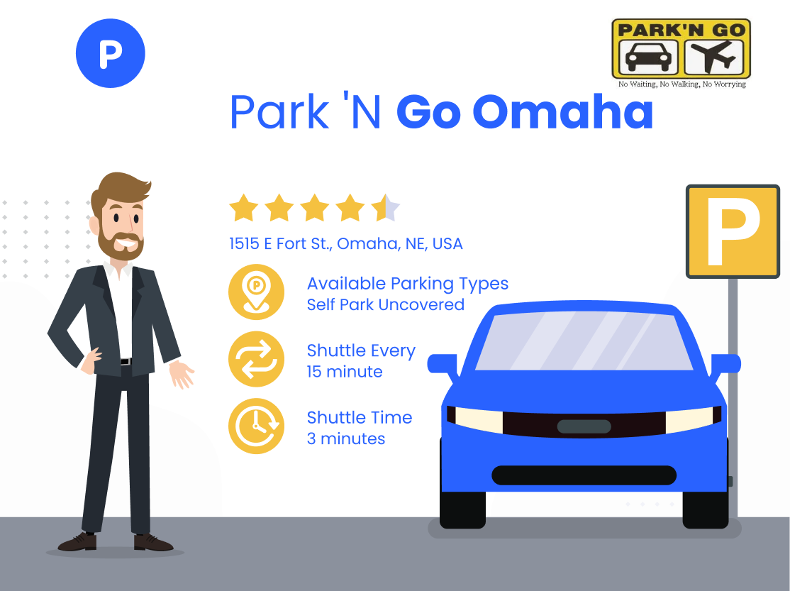Park 'N Go Omaha Address, Shuttle to Terminal and Reviews