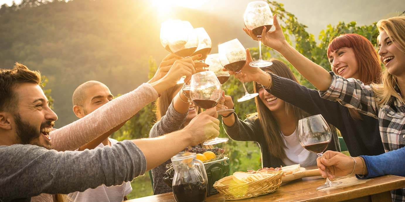Limousine tours for wineries