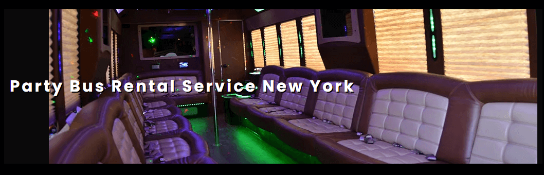 Party bus rental in new york
