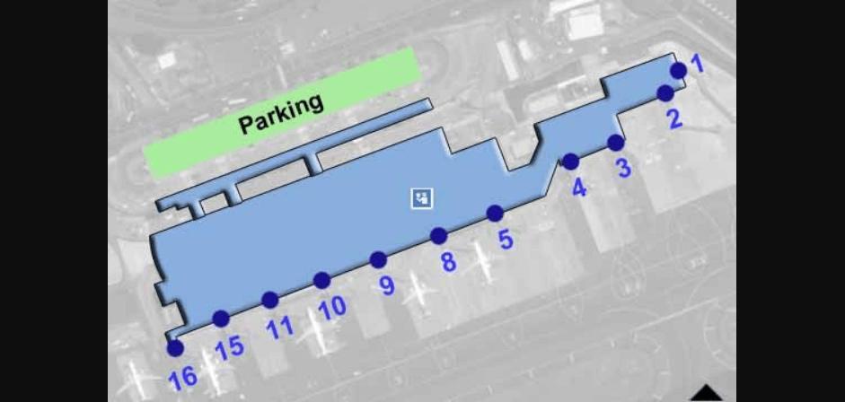 San Jose Santamaria Airport Parking Map