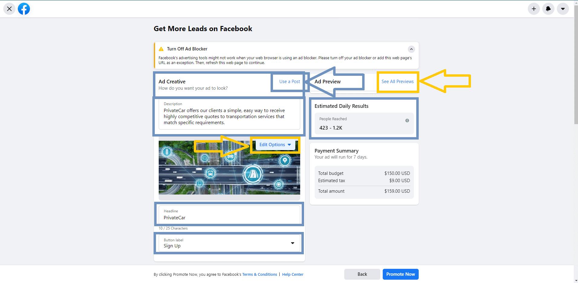 Facebook Usage