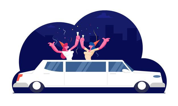 book a limo with privatecar for a perfect date night